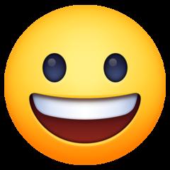 Emoji Wajah Menyeringai Facebook