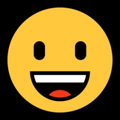 Emoji Wajah Menyeringai Microsoft