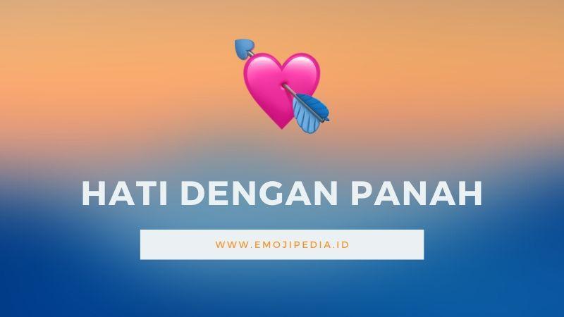 Arti Emoji Hati dengan Anak Panah by Emojipedia.ID