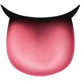 Emoji Lidah Apple