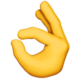 √ Arti Emoji 👌 Tangan OK (OK Hand) - Emojipedia