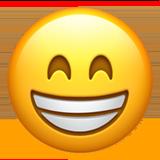 Wajah Berseri dengan Mata Tersenyum Apple