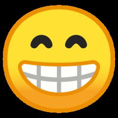 Wajah Berseri dengan Mata Tersenyum Google