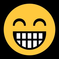 Wajah Berseri dengan Mata Tersenyum Microsoft
