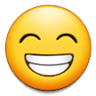 Wajah Berseri dengan Mata Tersenyum Samsung
