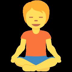 arti emoji 🧘 orang dalam posisi lotus person in lotus