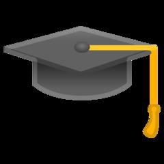 Arti Emoji Topi Wisuda Graduation Cap Emojipedia