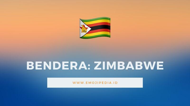 Arti Emoji Bendera Zimbabwe by Emojipedia.ID