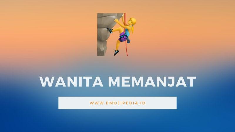 Arti Emoji Wanita Memanjat by Emojipedia.ID