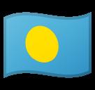 Emoji Bendera Palau Google