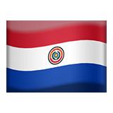 Emoji Bendera Paraguay Apple