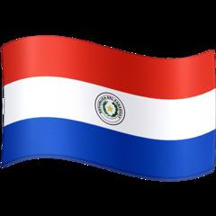 Emoji Bendera Paraguay Facebook