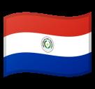 Emoji Bendera Paraguay Google