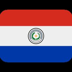 Emoji Bendera Paraguay Twitter
