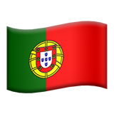 Emoji Bendera Portugal Apple