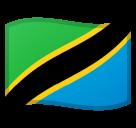 Emoji Bendera Tanzania Google