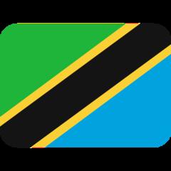 Emoji Bendera Tanzania Twitter