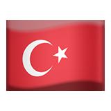 Emoji Bendera Turki Apple