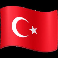 Emoji Bendera Turki Facebook