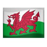 Emoji Bendera Wales Apple