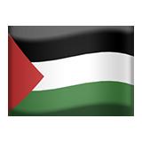 Emoji Bendera Wilayah Palestina Apple