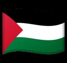 Emoji Bendera Wilayah Palestina Google