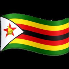 Emoji Bendera Zimbabwe Facebook
