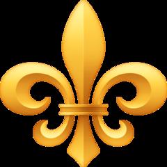 Emoji Fleur De Lis Facebook