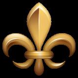 Emoji Fleur De Lis WhatsApp