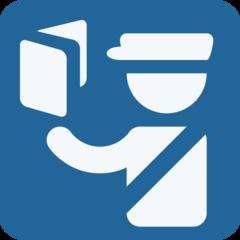 Emoji Kontrol Paspor Twitter