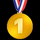 Emoji Medali Juara 1 Apple