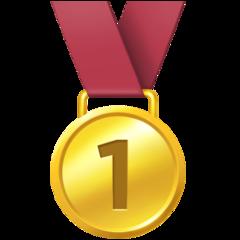 Emoji Medali Juara 1 Facebook