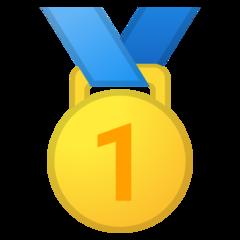 Emoji Medali Juara 1 Google
