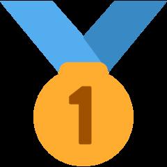 Emoji Medali Juara 1 Twitter
