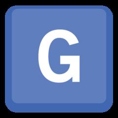 Emoji Simbol Indikator Regional Huruf G Facebook