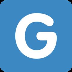 Emoji Simbol Indikator Regional Huruf G Twitter