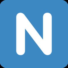 Emoji Simbol Indikator Regional Huruf N Twitter