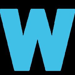 Emoji Simbol Indikator Regional Huruf W Google