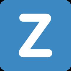 Emoji Simbol Indikator Regional Huruf Z Twitter