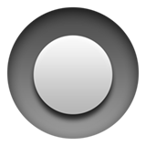 Emoji Tombol Radio Apple