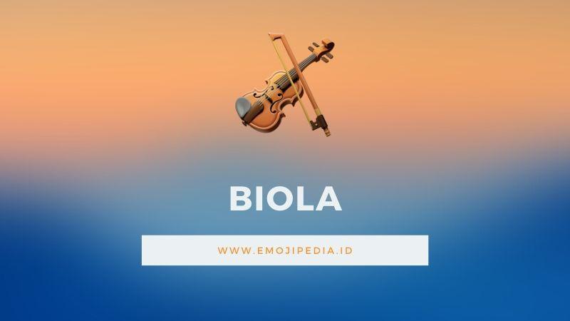 Arti Emoji Biola by Emojipedia.ID