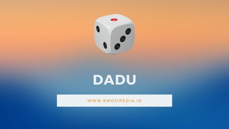 Arti Emoji Dadu by Emojipedia.ID
