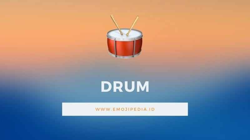 Arti Emoji Drum by Emojipedia.ID