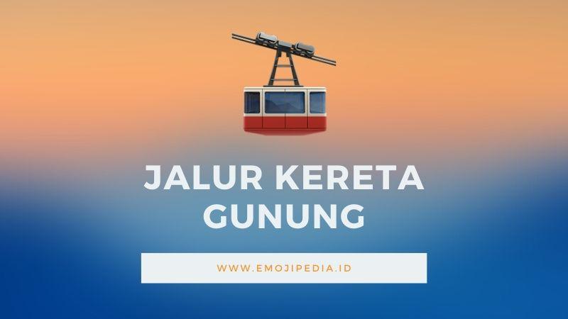 Arti Emoji Jalur Kereta by Emojipedia.ID