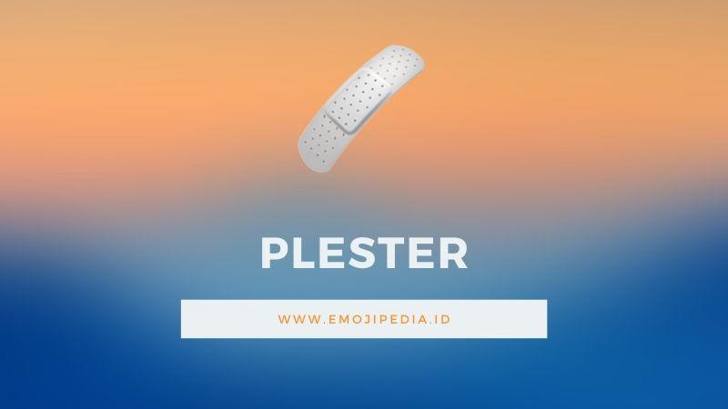 Arti Emoji Plester by Emojipedia.ID