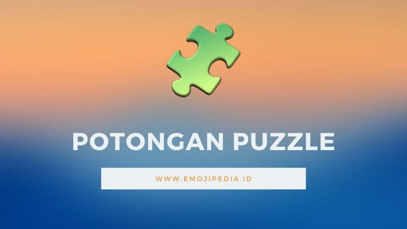 Arti Emoji Potongan Puzzle by Emojipedia.ID
