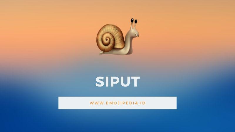 Arti Emoji Siput Snail Emojipedia