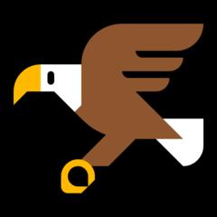 Emoji Burung Elang Microsoft