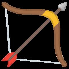 Emoji Busur dan Panah Google