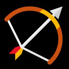 Emoji Busur dan Panah Microsoft